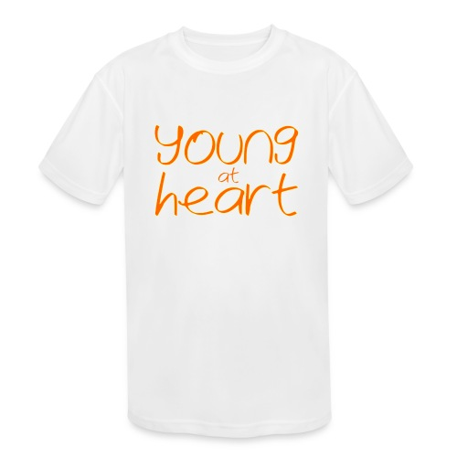 young at heart - Kids' Moisture Wicking Performance T-Shirt