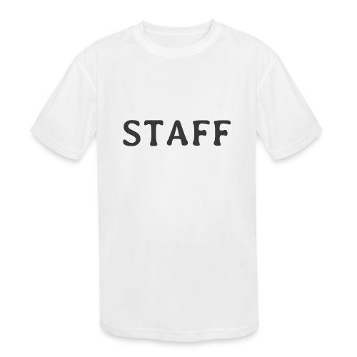 Staff - Kids' Moisture Wicking Performance T-Shirt
