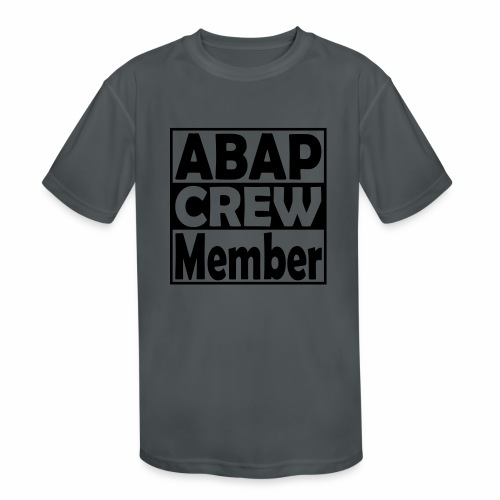 ABAPcrew - Kids' Moisture Wicking Performance T-Shirt