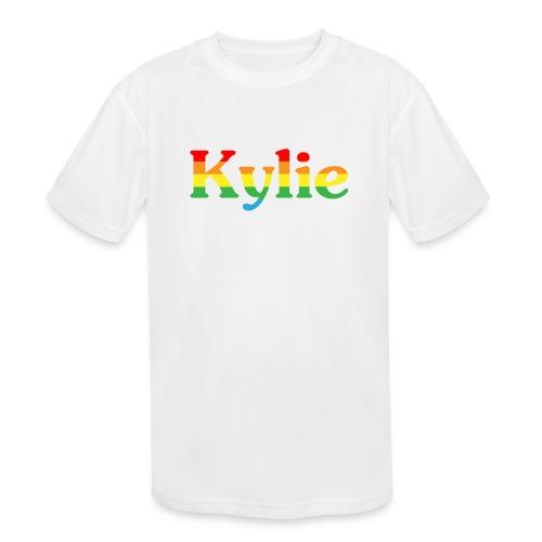 Kylie Minogue - Kids' Moisture Wicking Performance T-Shirt