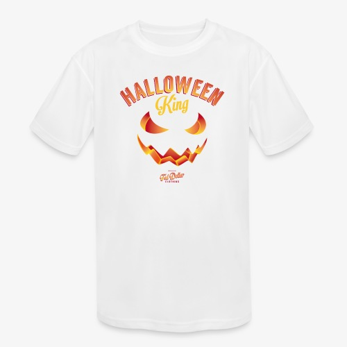 Halloween King - Kids' Moisture Wicking Performance T-Shirt