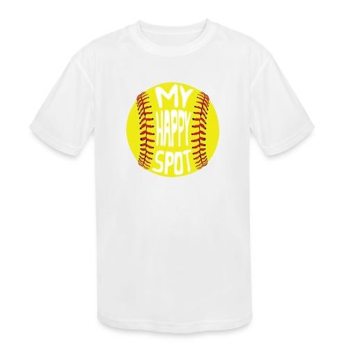 People s Republic of Burlington Softball - Kids' Moisture Wicking Performance T-Shirt