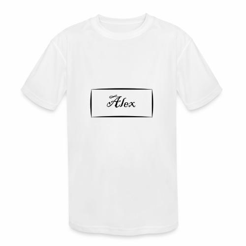 Alex - Kids' Moisture Wicking Performance T-Shirt