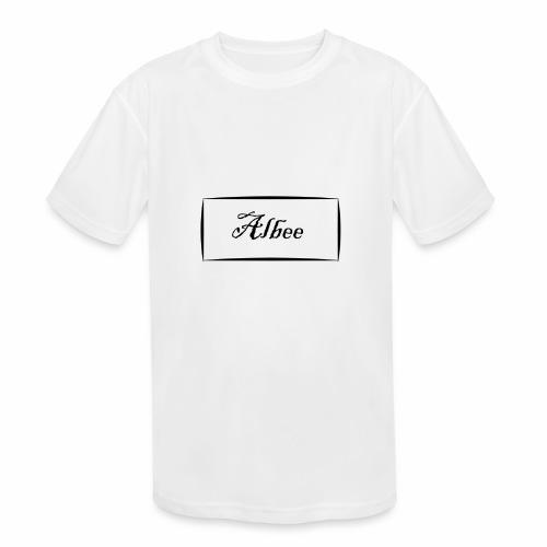 Albee - Kids' Moisture Wicking Performance T-Shirt