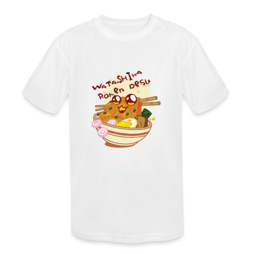 Watashiwa Ramen Desu - Kids' Moisture Wicking Performance T-Shirt