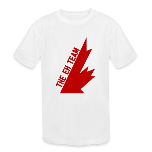 The Eh Team Red - Kids' Moisture Wicking Performance T-Shirt