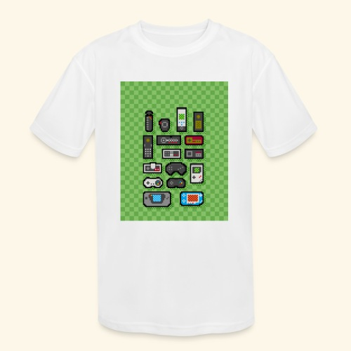 controller handy - Kids' Moisture Wicking Performance T-Shirt