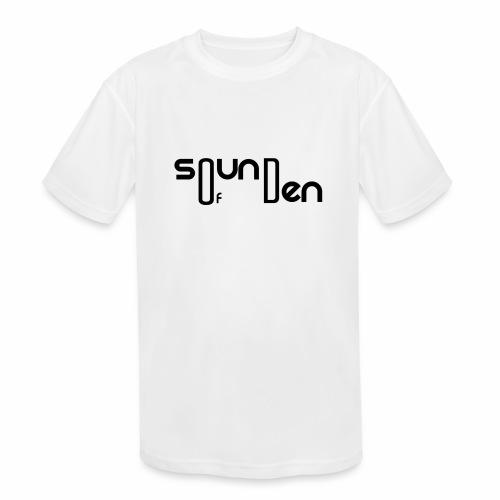 Soundofden Classical Black Logo - Kids' Moisture Wicking Performance T-Shirt