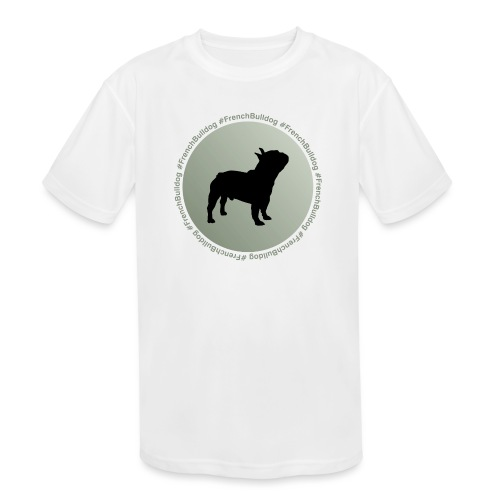 French Bulldog - Kids' Moisture Wicking Performance T-Shirt