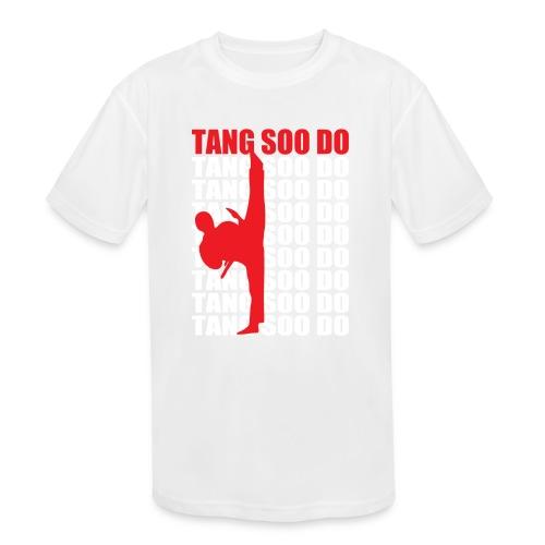Tang Soo Do - Kids' Moisture Wicking Performance T-Shirt