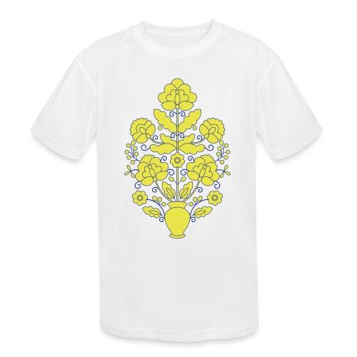 Tree of Life on White - Kids' Moisture Wicking Performance T-Shirt