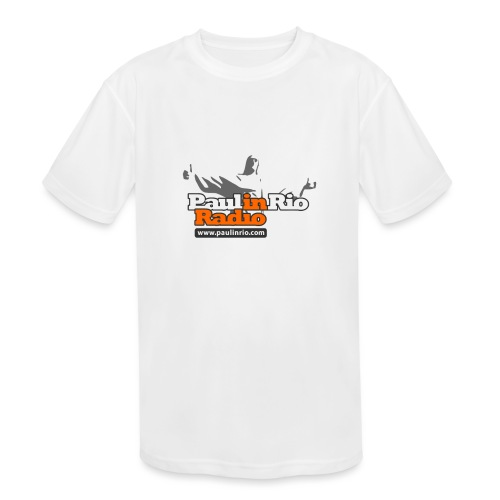 Paul in Rio Radio - Thumbs-up Corcovado #1 - Kids' Moisture Wicking Performance T-Shirt