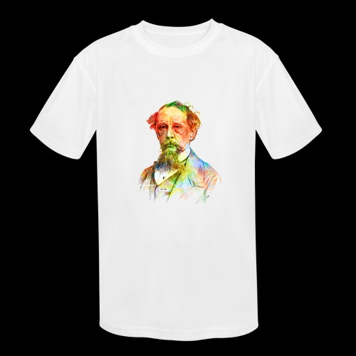 What the Dickens? | Classic Literature Lover - Kids' Moisture Wicking Performance T-Shirt