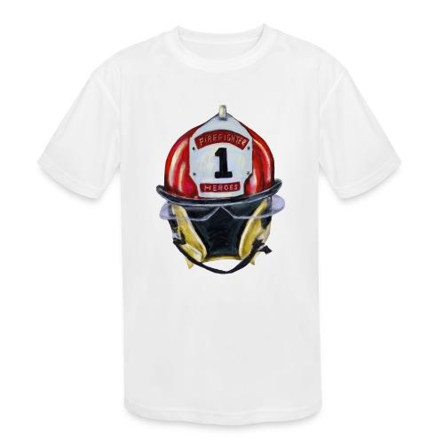 Firefighter - Kids' Moisture Wicking Performance T-Shirt