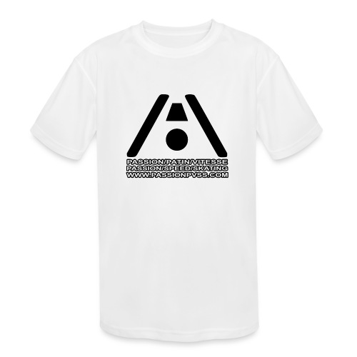 Passion / Skate / Speed - Passion / Speed / Skating - Kids' Moisture Wicking Performance T-Shirt