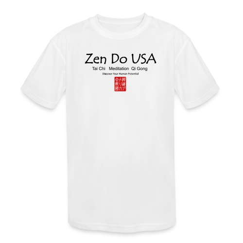 Zen Do USA - Kid's Moisture Wicking Performance T-Shirt
