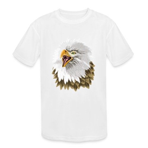Big, Bold Eagle - Kids' Moisture Wicking Performance T-Shirt