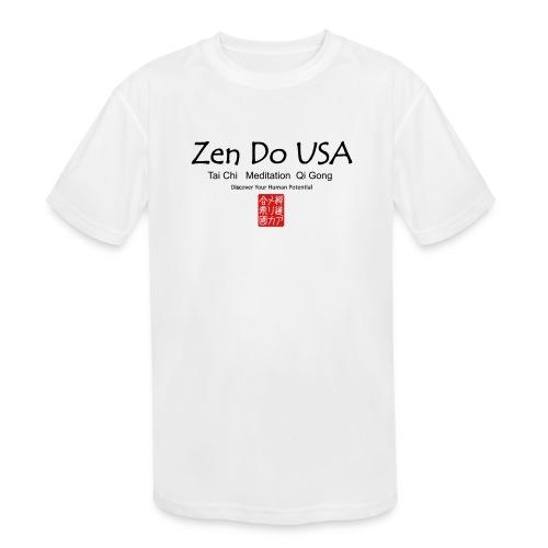 Zen Do USA - Kids' Moisture Wicking Performance T-Shirt