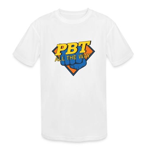 PBT Logo_Idea 3500 - Kids' Moisture Wicking Performance T-Shirt