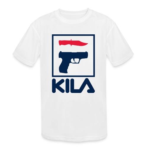 Kila - Kids' Moisture Wicking Performance T-Shirt