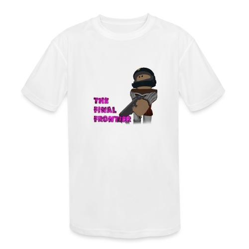 The Final Frontier - Kids' Moisture Wicking Performance T-Shirt