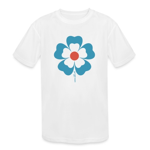 flower time - Kids' Moisture Wicking Performance T-Shirt