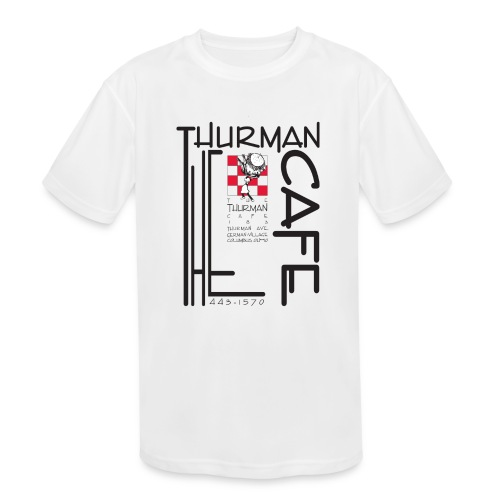 Thurman Cafe Traditional Logo - Kids' Moisture Wicking Performance T-Shirt