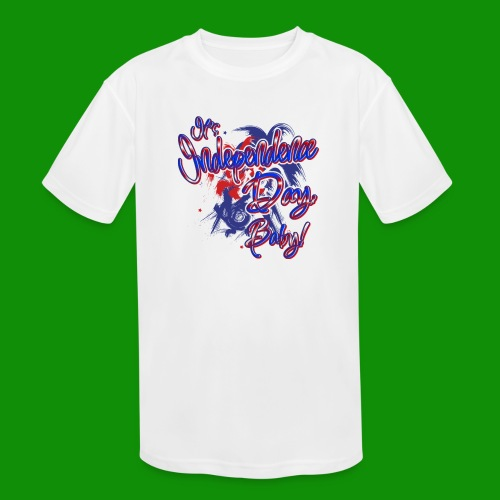 Independence Day Baby - Kids' Moisture Wicking Performance T-Shirt