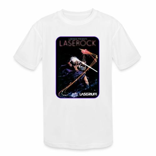 Laserium Design 002 - Kids' Moisture Wicking Performance T-Shirt