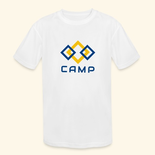 CAMP LOGO and products - Kids' Moisture Wicking Performance T-Shirt