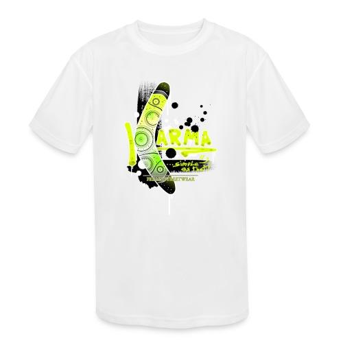 KARMA - Kids' Moisture Wicking Performance T-Shirt