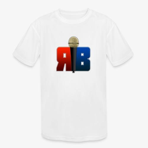 RubikBBX Logo - Kids' Moisture Wicking Performance T-Shirt