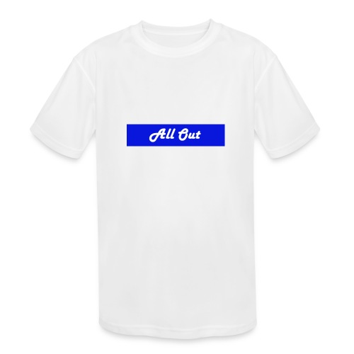 All out - Kids' Moisture Wicking Performance T-Shirt