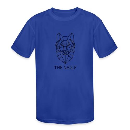 The Wolf - Kids' Moisture Wicking Performance T-Shirt