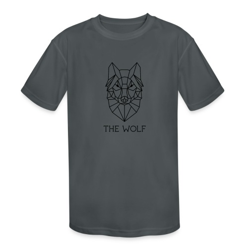 The Wolf - Kids' Moisture Wicking Performance T-Shirt