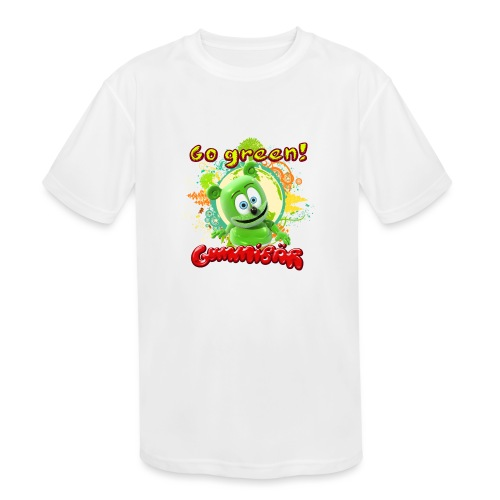 Gummibär Go Green Earth Day Trees - Kids' Moisture Wicking Performance T-Shirt
