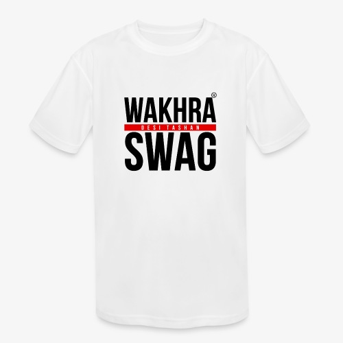 Wakhra Swag B - Kids' Moisture Wicking Performance T-Shirt