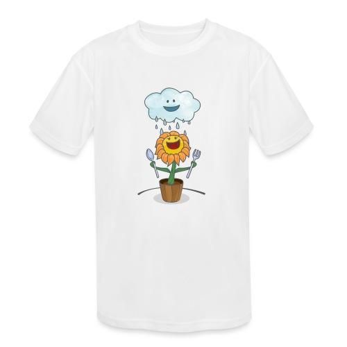 Cloud & Flower - Best friends forever - Kids' Moisture Wicking Performance T-Shirt