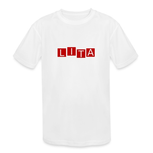 LITA Logo - Kids' Moisture Wicking Performance T-Shirt