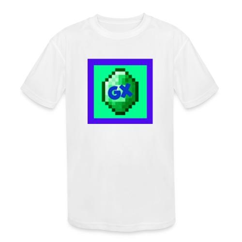 Glarexo Logo - Kids' Moisture Wicking Performance T-Shirt