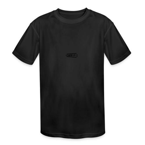 Live It V1 - Kids' Moisture Wicking Performance T-Shirt