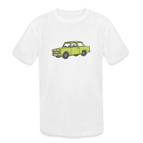 Trabant (baligreen car) - Kids' Moisture Wicking Performance T-Shirt