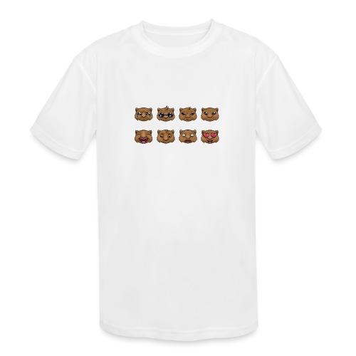 Wombat Feelings - Kids' Moisture Wicking Performance T-Shirt
