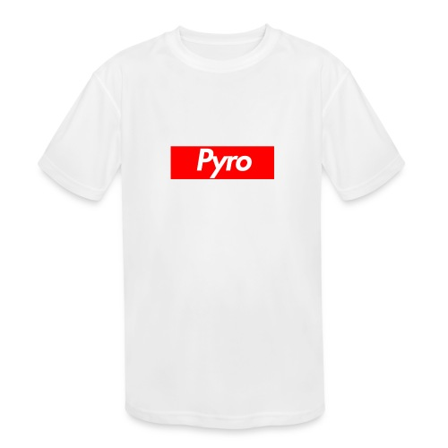 pyrologoformerch - Kids' Moisture Wicking Performance T-Shirt