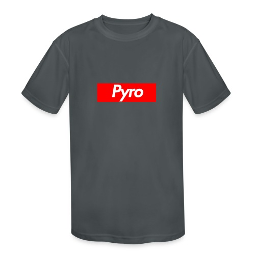 pyrologoformerch - Kids' Moisture Wicking Performance T-Shirt