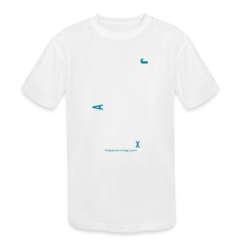 Jacksonville Streets - Kids' Moisture Wicking Performance T-Shirt