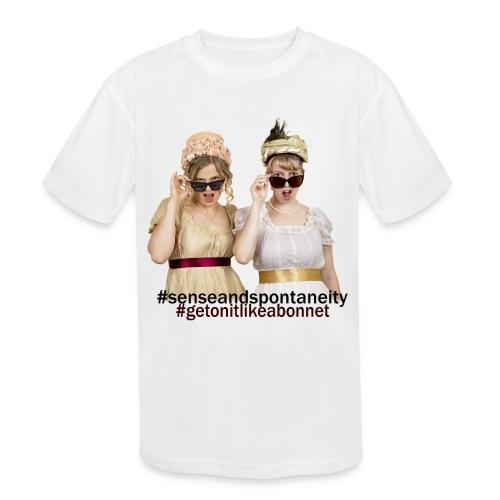 Shady Ladies - Kids' Moisture Wicking Performance T-Shirt