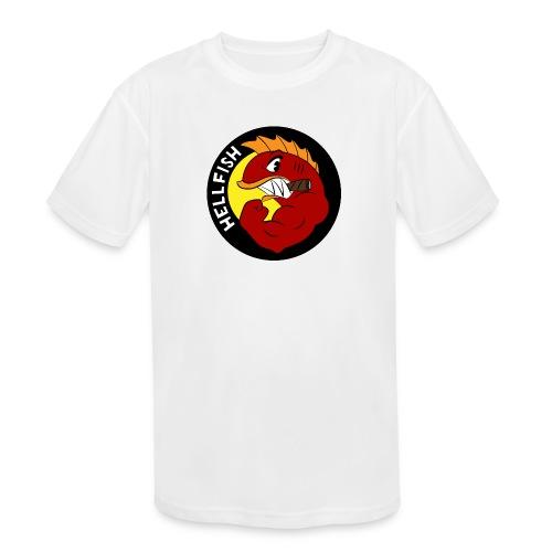 Hellfish - Flying Hellfish - Kids' Moisture Wicking Performance T-Shirt