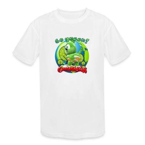 Gummibär Go Green Earth Day Earth - Kids' Moisture Wicking Performance T-Shirt