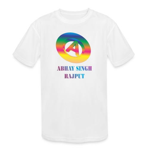abhay - Kids' Moisture Wicking Performance T-Shirt